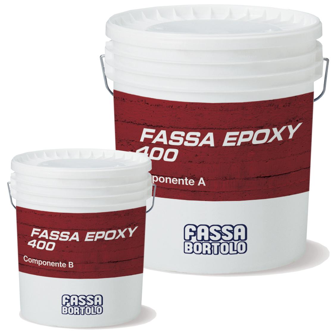 FASSA EPOXY 400: Estuque epóxi para a regularização de superfícies, a colagem estrutural e para a realização de sistemas de reforço FASSAPLATE CARBON SYSTEM