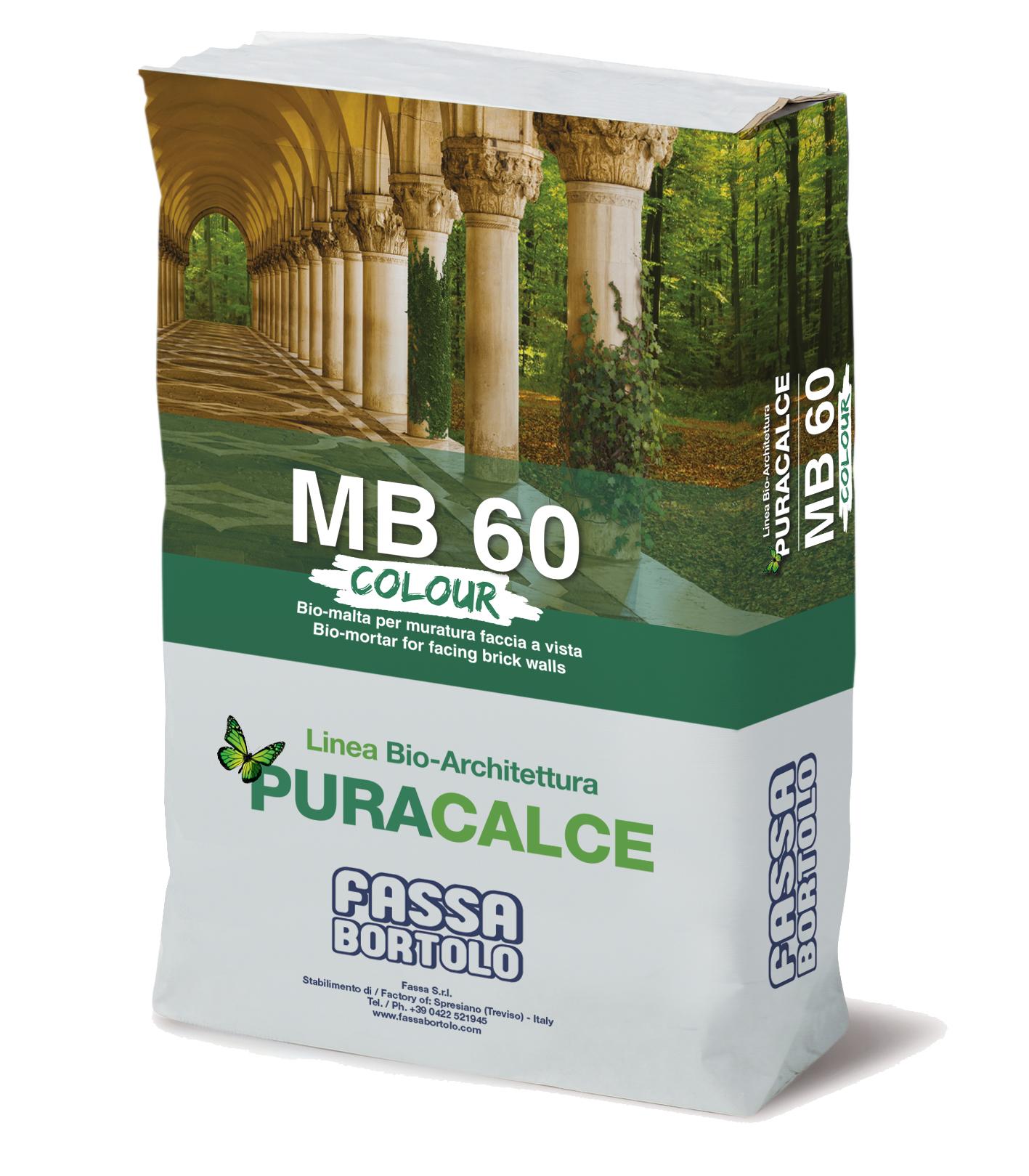 MB 60 COLORIDO: Argamassa face à vista colorida de aplicação manual em interior e exterior