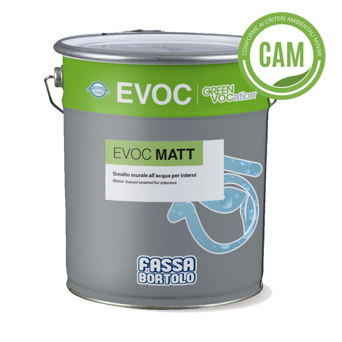 EVOC MATT: Esmalte mural de água opaco para interiores