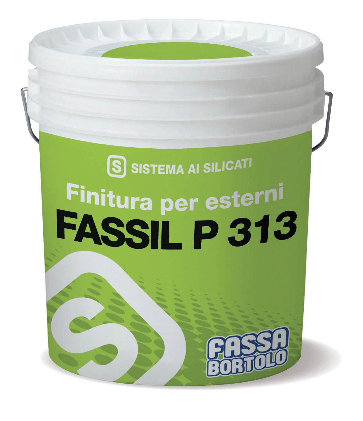 FASSIL P 313: Pintura aquosa mineral à base de silicatos