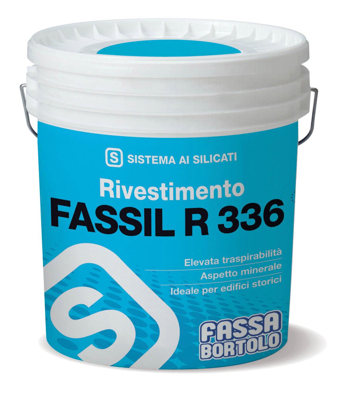 FASSIL R 336: Revestimento mineral à base de silicatos