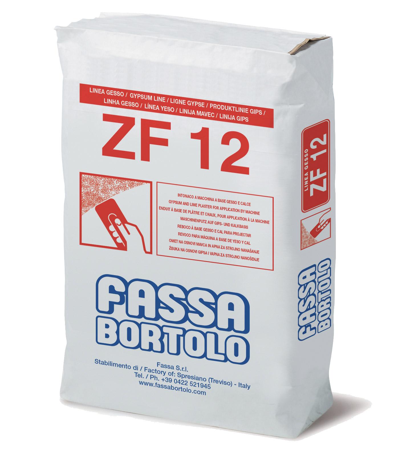 ZF 12: Reboco à base de cal e gesso para inteiror