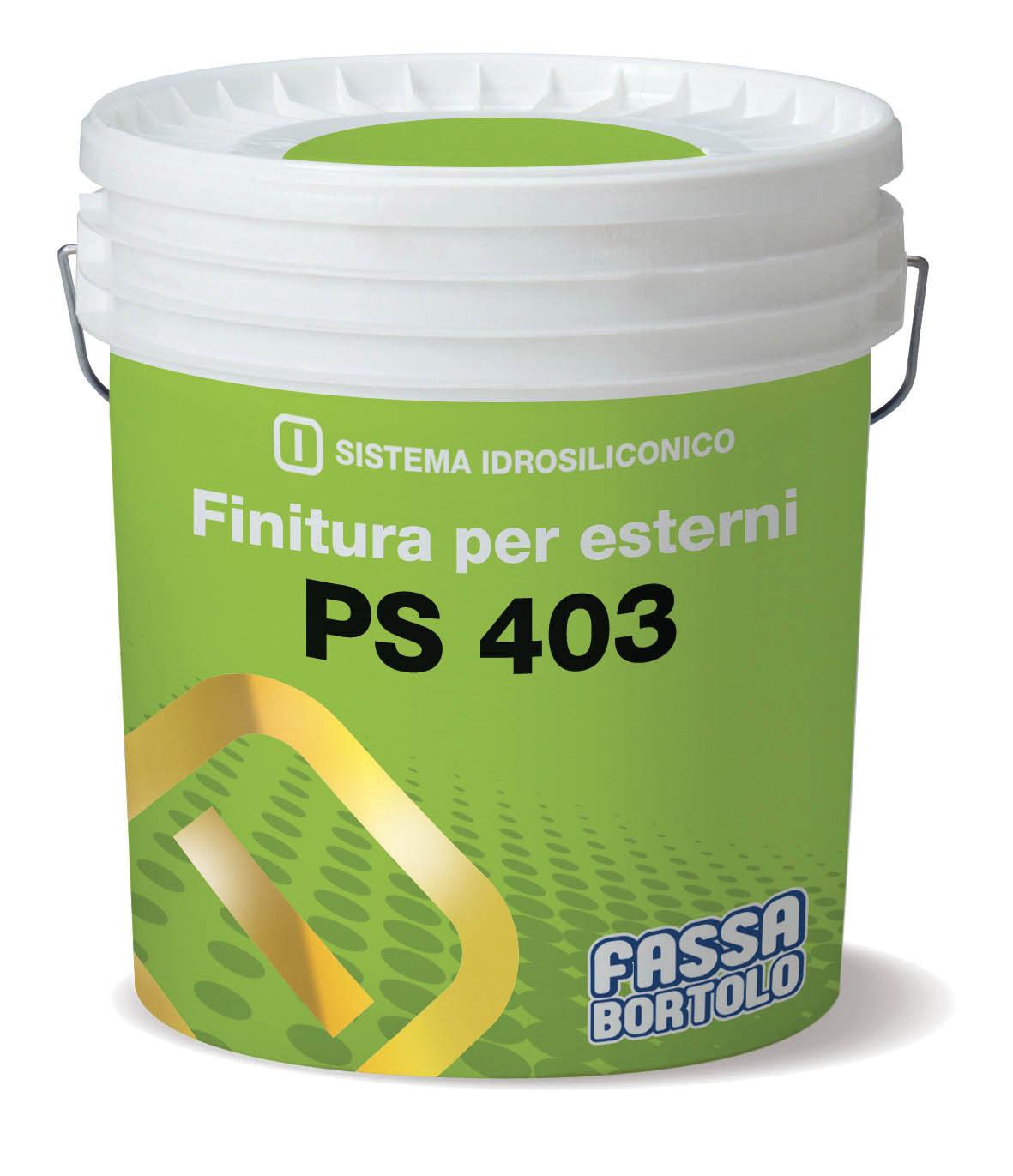PS 403: Pintura siloxânica altamente transpirante