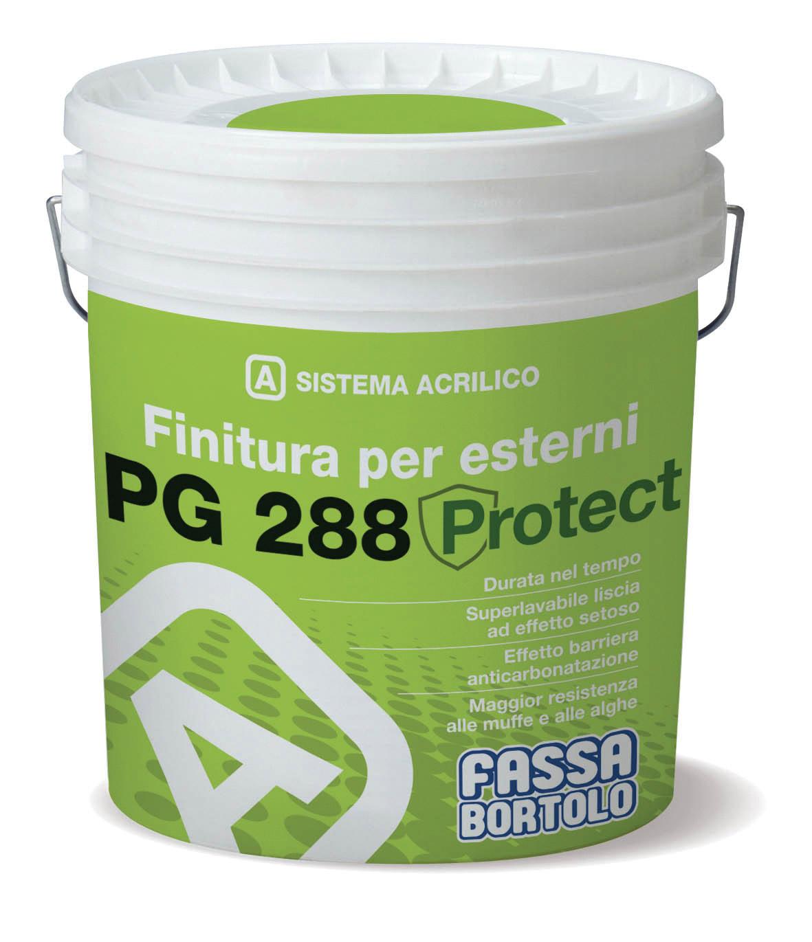 PG 288 PROTECT: Acabamento liso e opaco para exterior