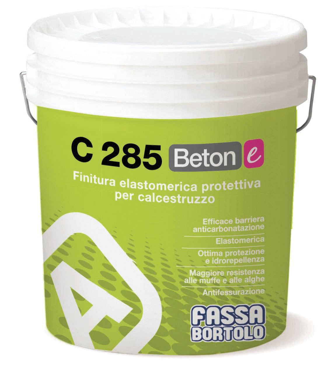 C 285 BETON-E: Pintura elastomérica para proteção de betão