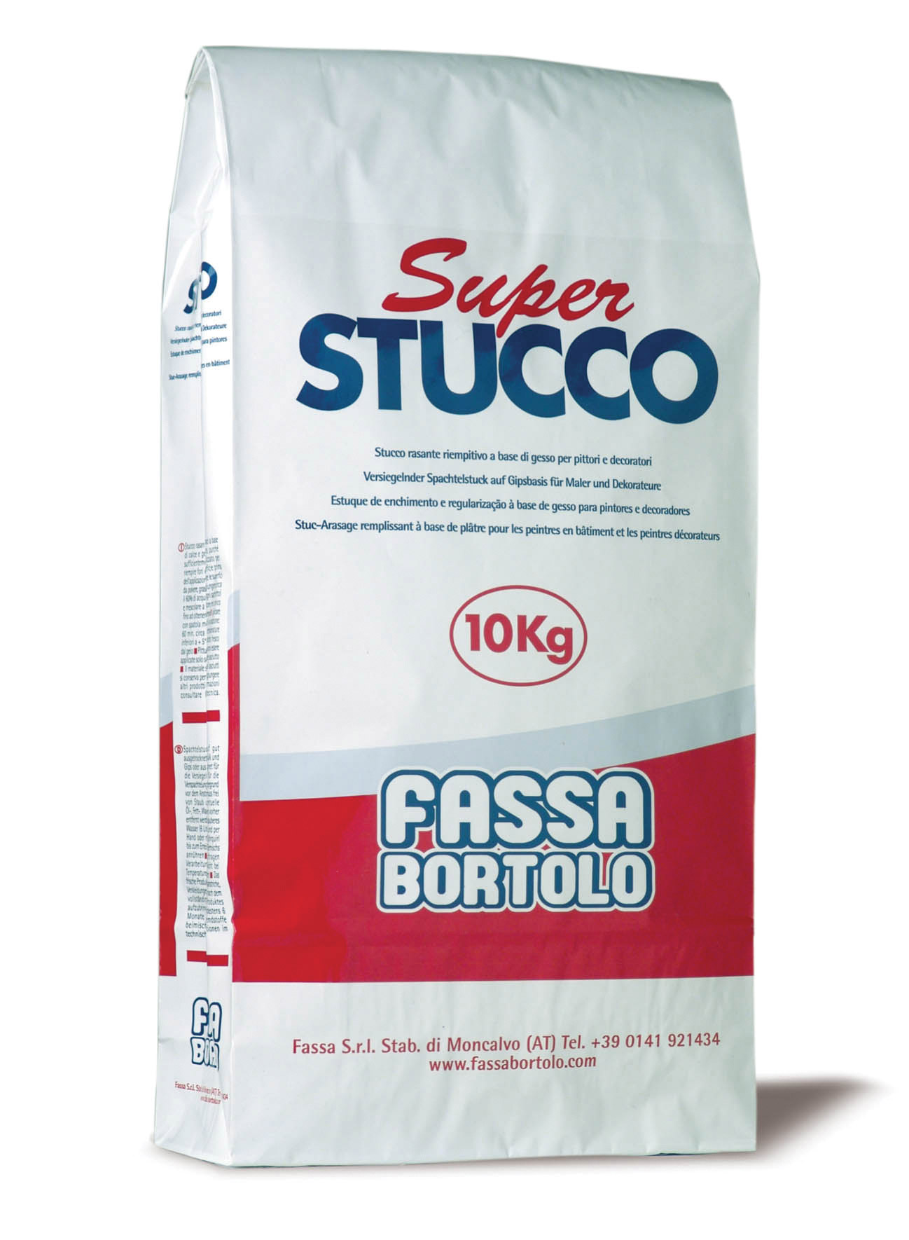 SUPER STUCCO: Estuque regularizador à base de gesso para pintores e decoradores