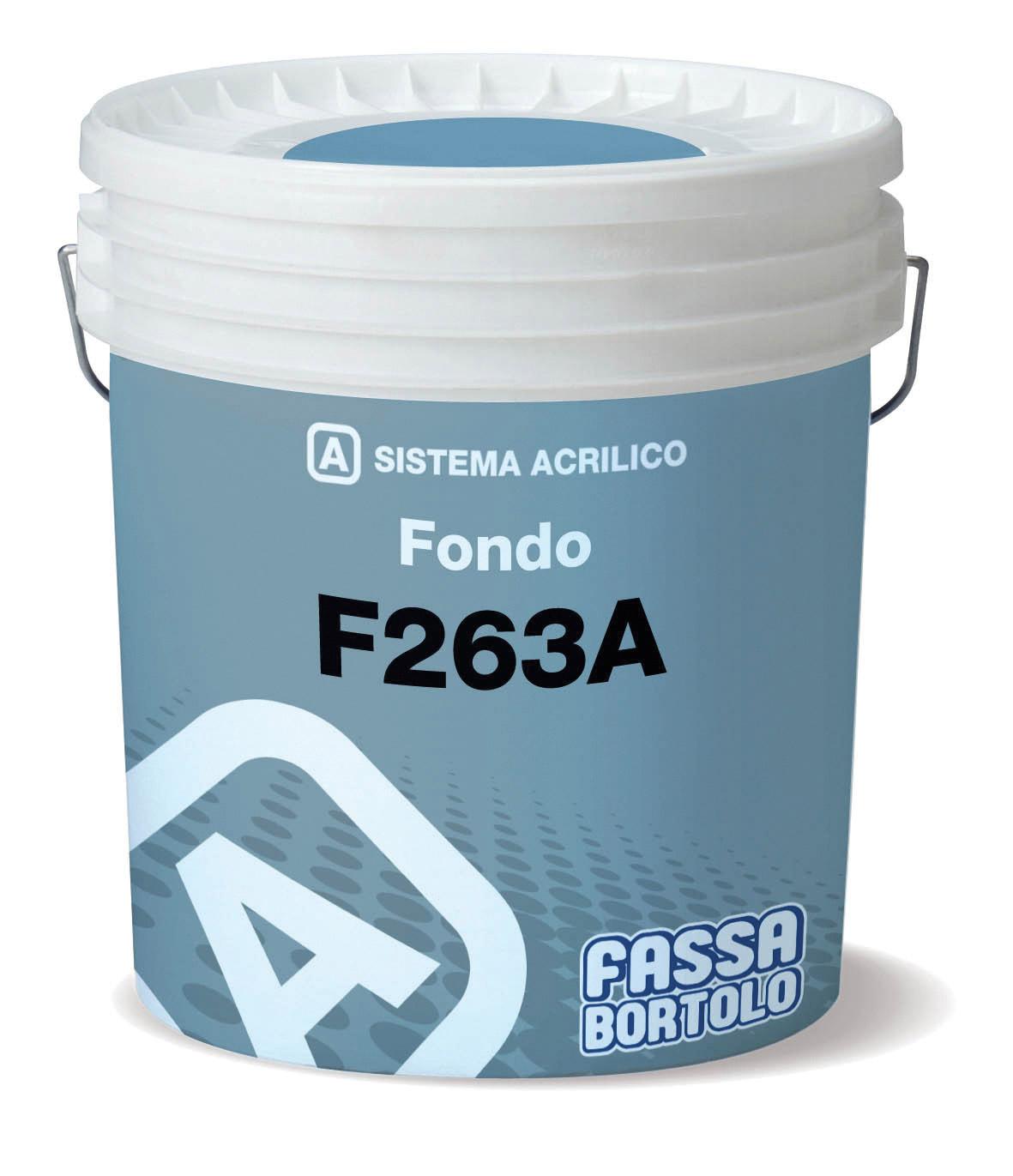 F 263A: Fundo de enchimento com efeito de reboco fino para exteriores e interiores