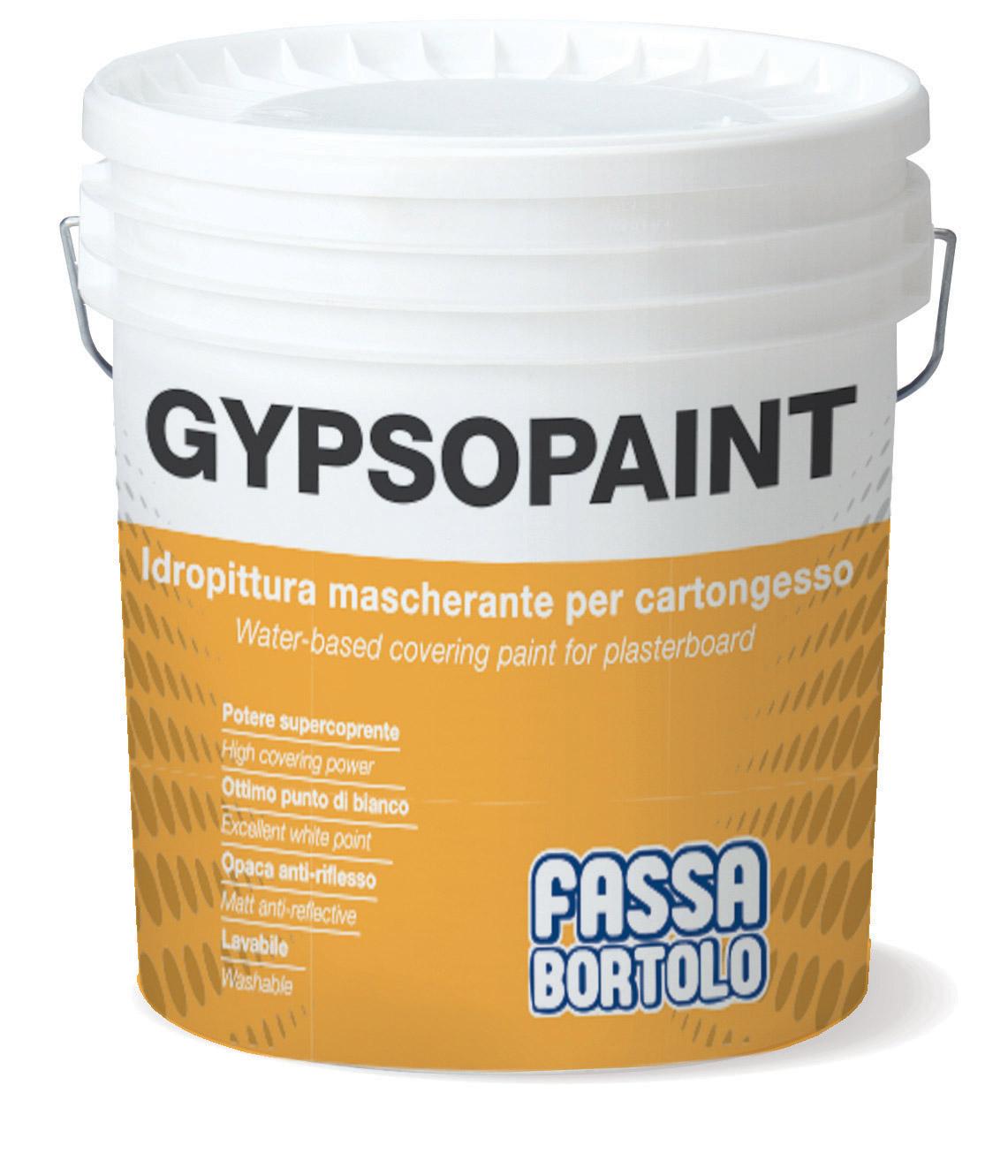 GYPSOPAINT: Pintura aquosa para gesso cartonado