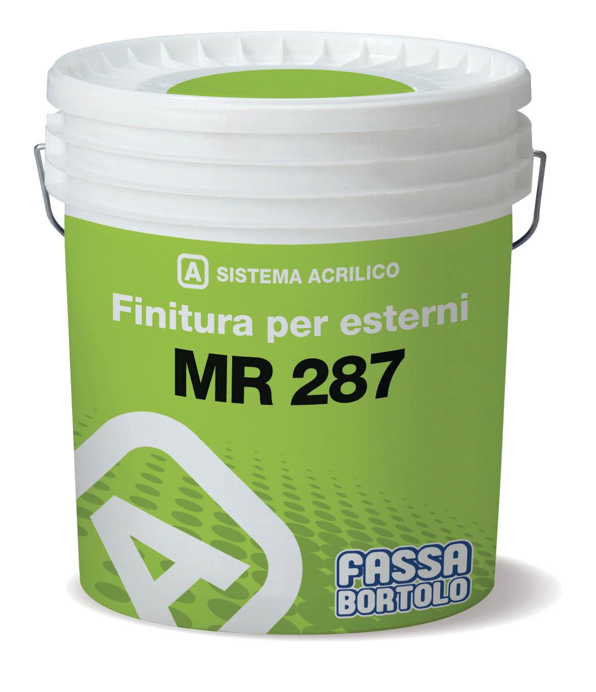 MR 287: Pintura aquosa de regularização para exterior.