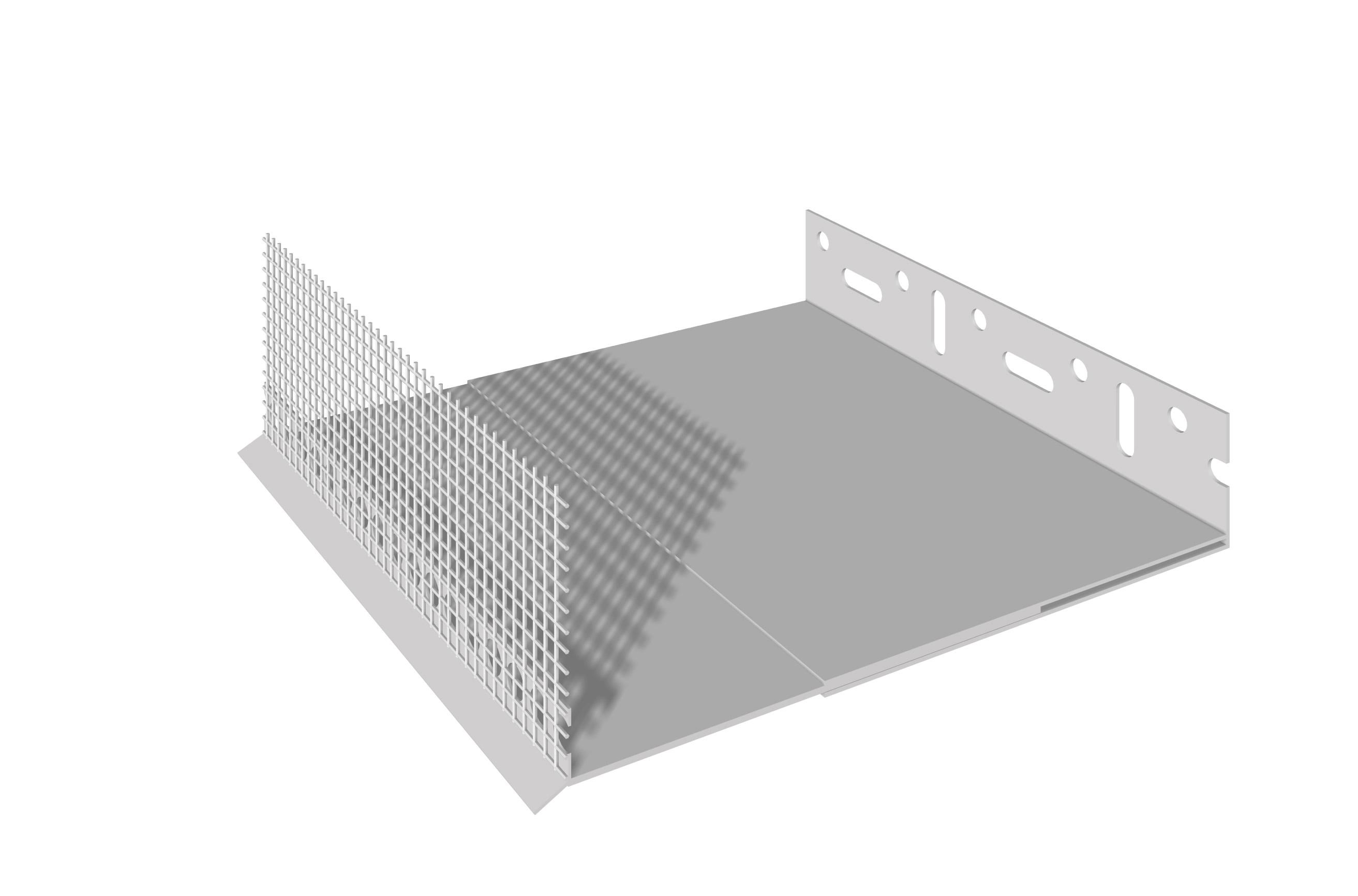 PERFIL DE ARRANQUE EM PVC: Perfil de arranque em PVC