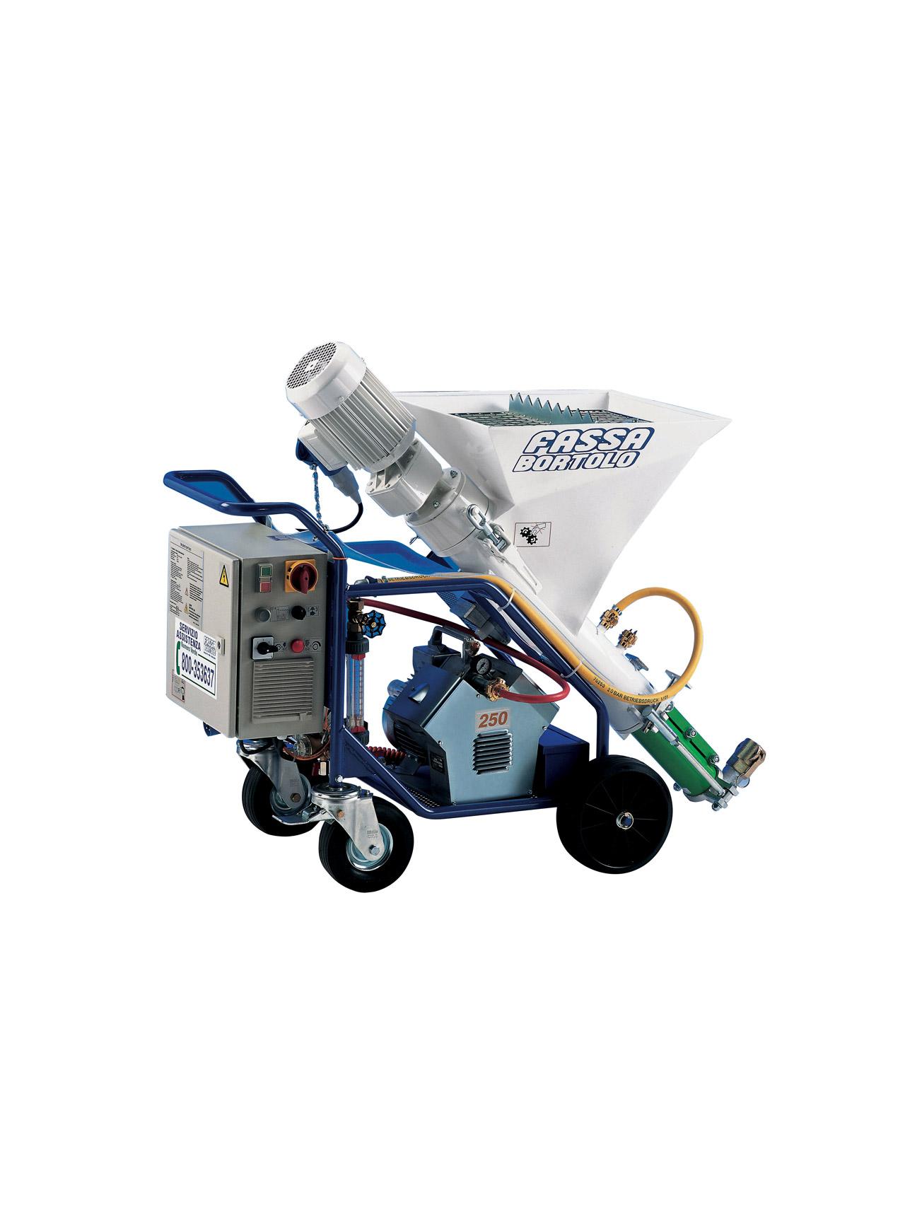M-TEC MONO-MIX: Máquina monofásica para colagem e regularização