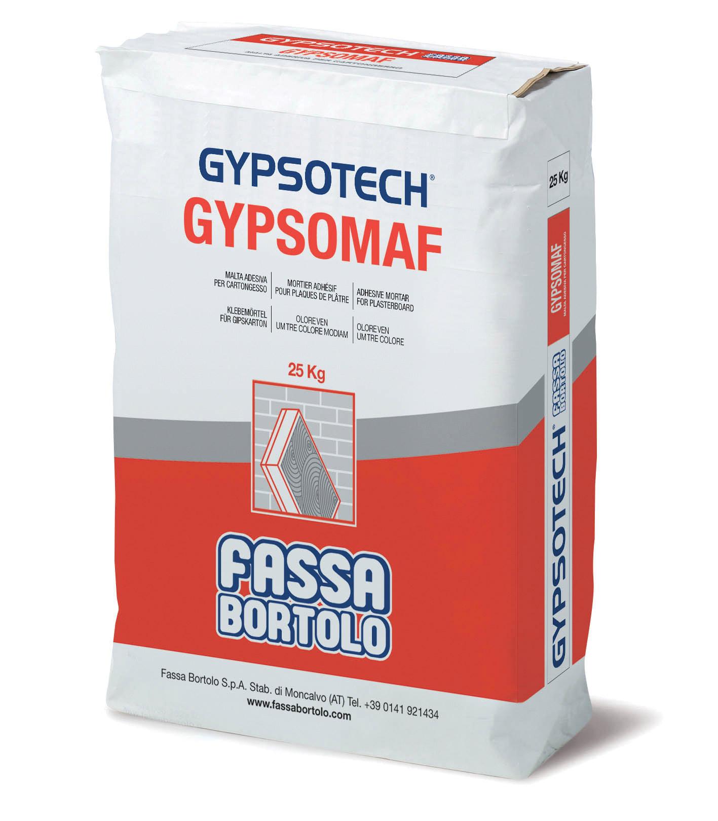 GYPSOMAF: Pasta de agarre para gesso cartonado