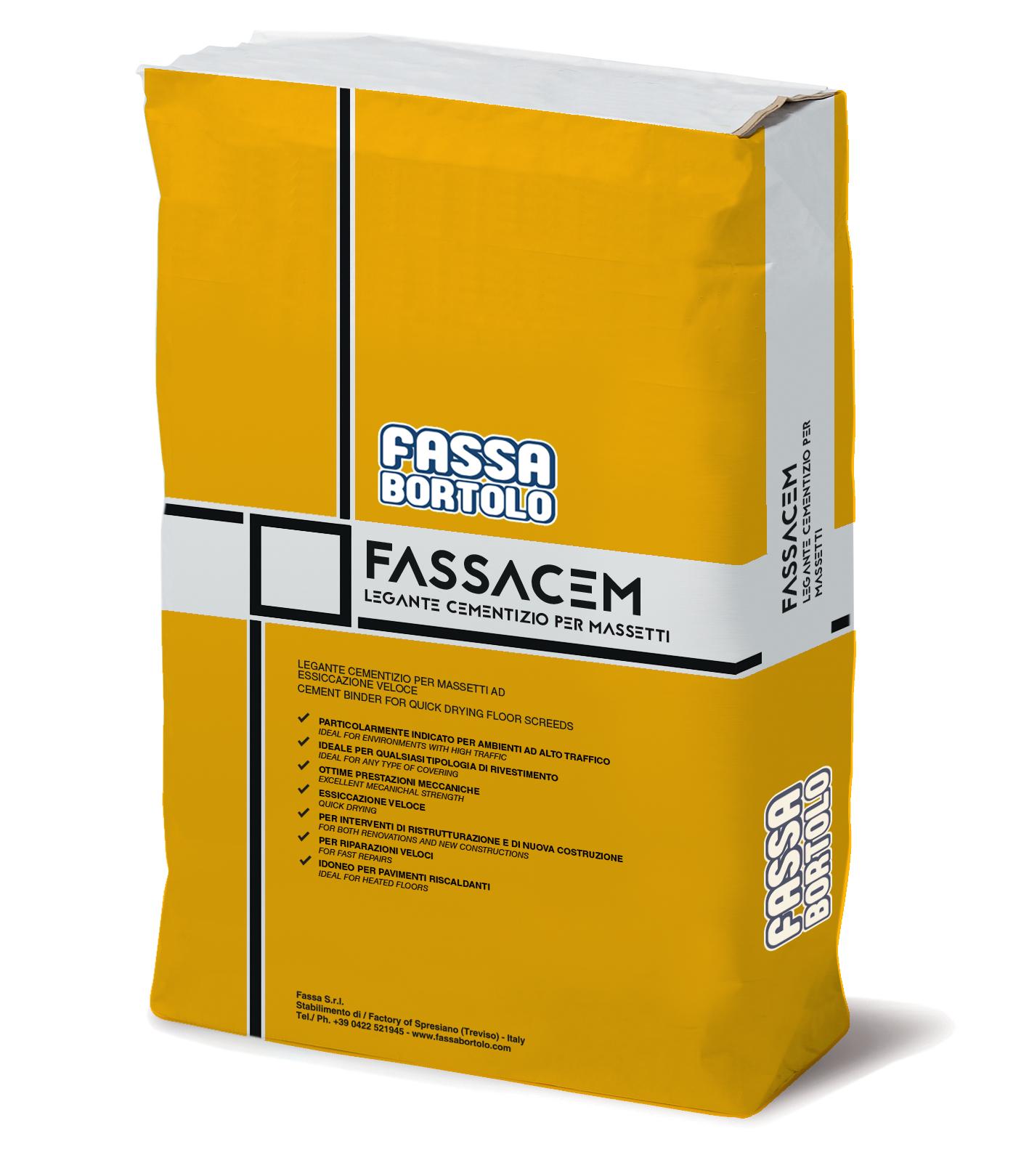FASSACEM: Ligante para betonilhas de secagem semi-rápida