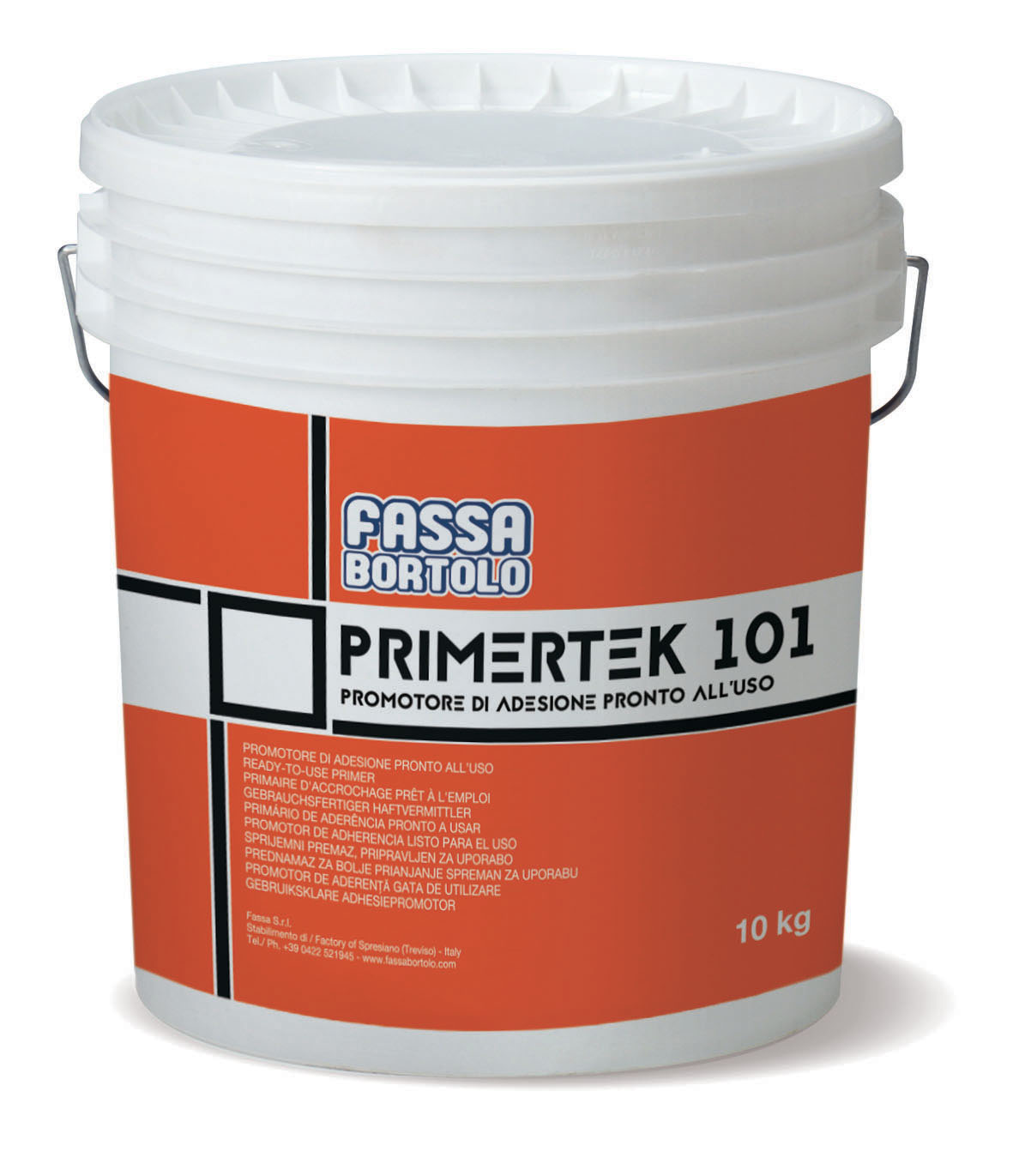 PRIMERTEK 101: Primário de adesão à base de resinas acrilicas, de fácil aplicação e pronto a usar