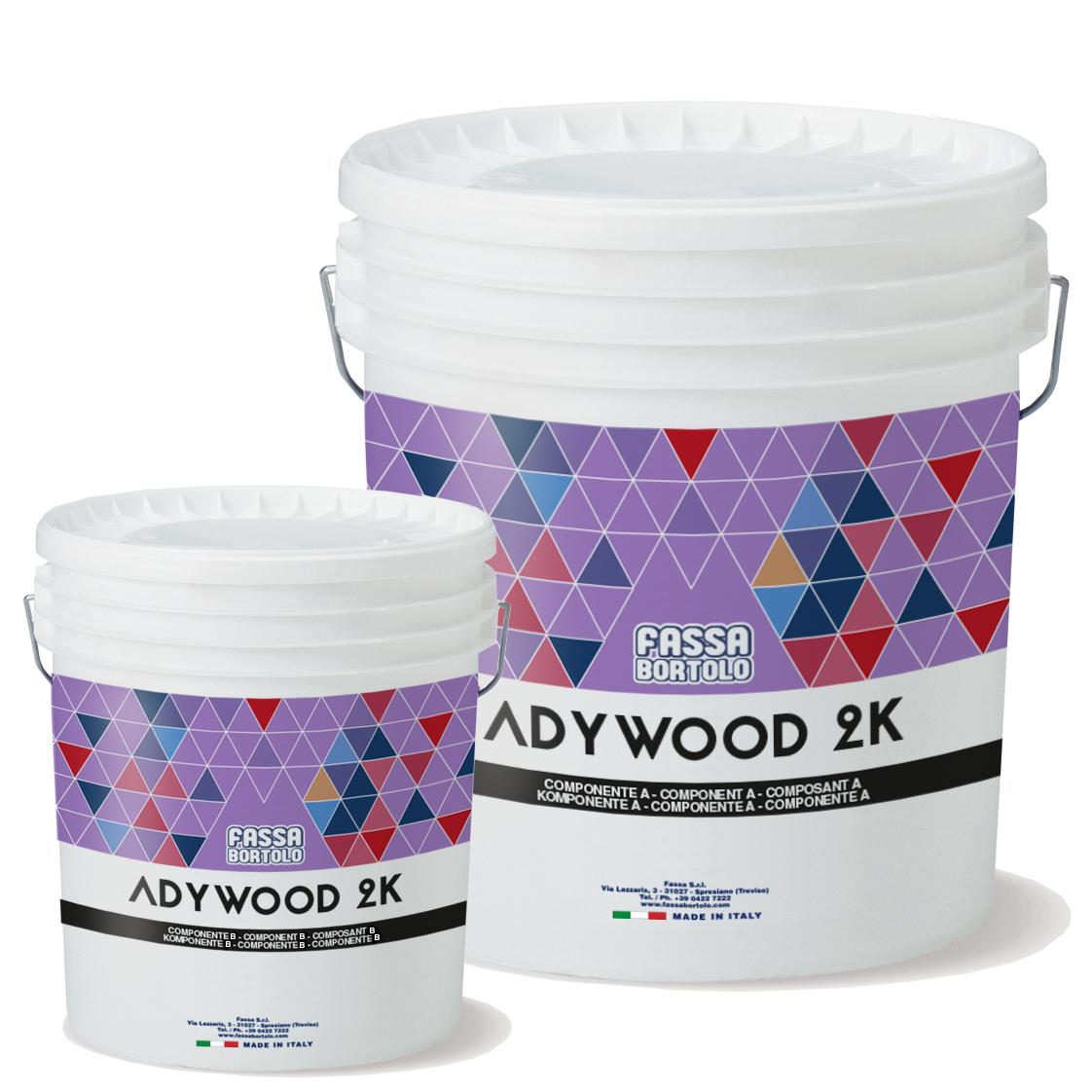 ADYWOOD 2K: Cola bicomponente epóxi-poliuretano para a colagem de pavimentos de madeira