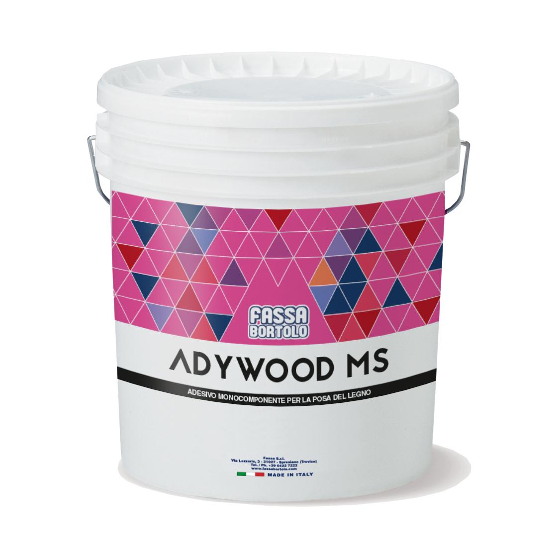 ADYWOOD MS: Adesivo monocomponente silânico para madeira
