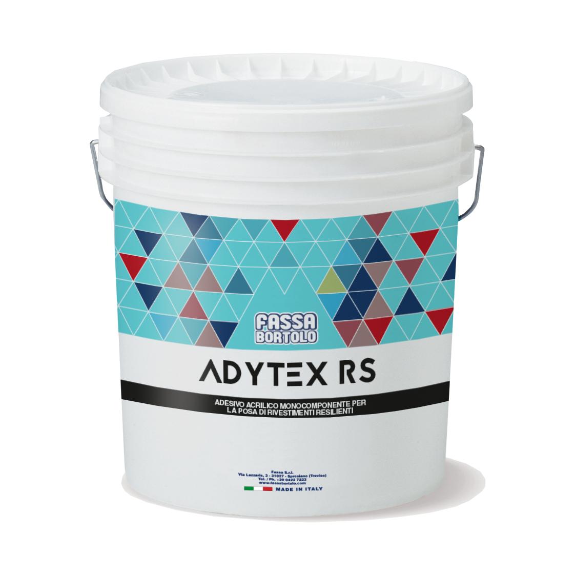 ADYTEX RS: Adesivo acrilico mono-componente com elevada presa inicial para pavimentos resilientes, para interior