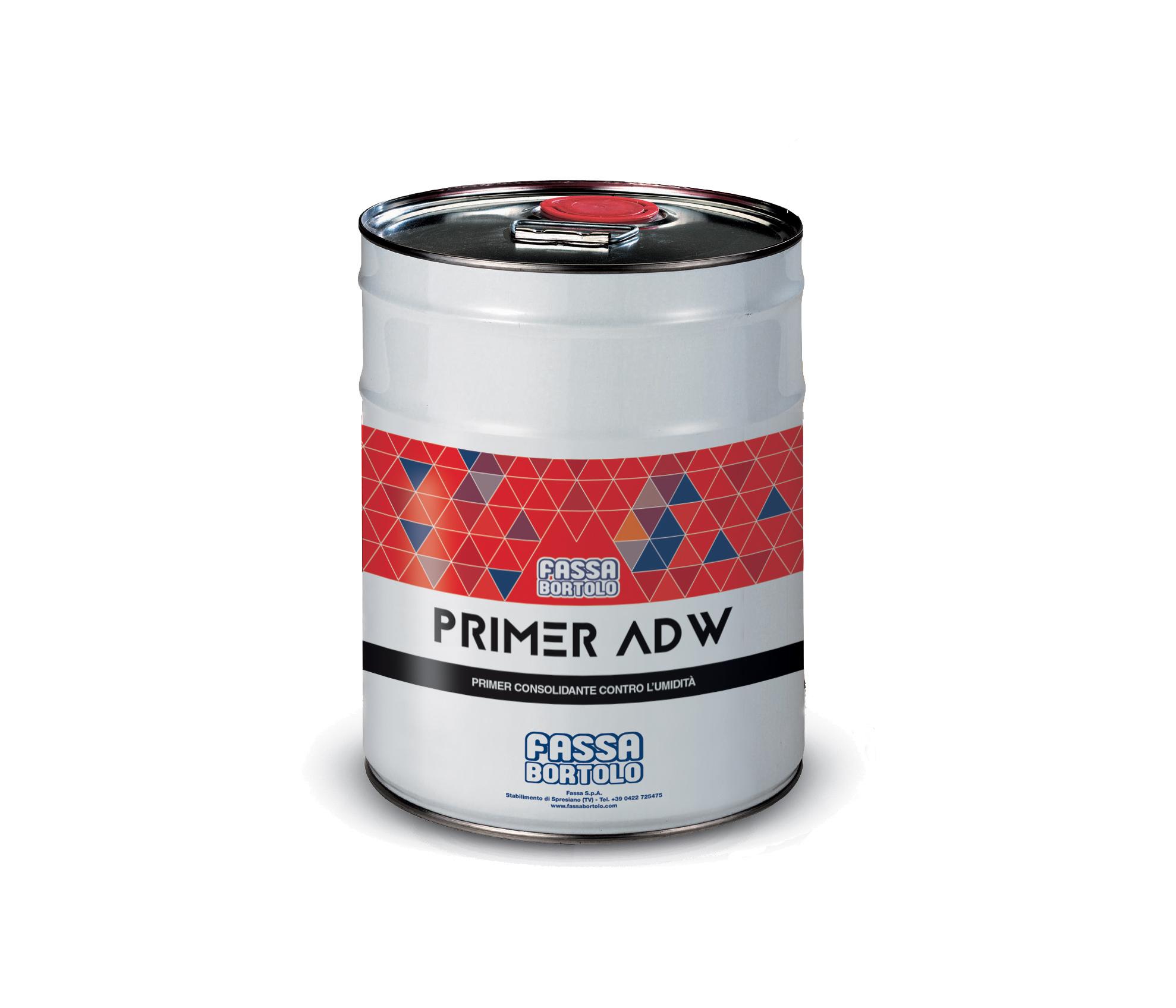 PRIMER ADW: Primário consolidante e impermeabilizante de poliuretano para betonilhas