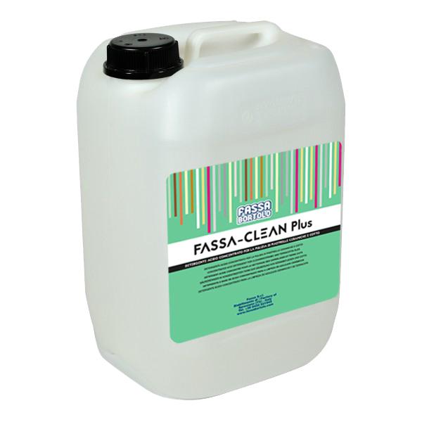 FASSA-CLEAN PLUS: Detergente ácido concentrado para a limpeza de cerâmicas
